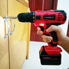 21v electric Drill Electric Cordless Screwdriver power tools Multi-function wireless 2Batteries drill +Professional toolbox