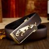 2020 Famous Brand Designer High Quality Genuine Leather Pin Buckles Jaguar Mens Belts Wide Luxury Male Cowskin Belt Women