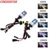 CROSSFOX 2pcs 55W Xenon H1 H7 H11 H3 H13 9005 9006 9004 9007 880 Headlight Bulb Car Fog Light HID Xenon Lamp 3000k - 12000K