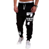 2017 New Men's Casual Pants Cotton Performance Fashion Fitness Workout Pants Casual Sweatpants Trousers Jogger Pants Homewear