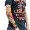 10PCS(5 packs) Nylon Elastic Fake Temporary  Personality Tattoo Sleeve Comfortable Breathable Arm Stockings Tatoo Cool Men Women