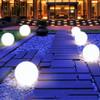 Rechargeable Remote Control RGB Colorful LED Floating Ball illuminated swimming pool ball light IP68 Outdoor Garden Light