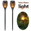 Solar Garden Lights Waterproof Outdoor Solar Torch Light Solar LED Flame Light Outdoor Landscape Decorative Path Lighting