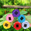 7Pcs LED Solar Power Garden Lights Colorful Flower Tulip Lamp For Outdoor Landscaping Park Lawns Grasses Christmas Decoration
