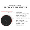 Qi Super thin fast Wireless Charger for iPhone 8/X /8 Plus 10W Qi Wireless Charging Pad  for Samsung Galaxy S8/S7 /S8 +