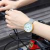 GEEKTHINK Top Luxury Brand Quartz Watch Women Fashion Leather strap Casual Japan quartz-watch Classic clock Female unisex