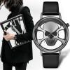 GEEKTHINK Hollow Out Style Men's Watches Skull Fashion Watches Women Quartz Clock Luxury Brand Wrsit Watch Skeleton Casual