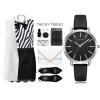 Geekthink Top Luxury brand Fashion Quartz Watches Women Diamonds Wristwatch Casual Leather Ladies Dress Clock Female New relogio