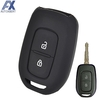 AX For Renault kwid Symbol Trafic for Dacia Sandero Logan Duster 2016 2017 2018 2 Button Silicone Car Remote Key Fob Cover Case