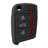 1 Pcs Top Quality Silic000000one Car Key Case Remote Bag Holder Cover For Volkswagen VW Golf 7 mk7