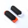 Mayitr 3Colors Professional Travel Hair Comb Portable Folding Hair Brush With Mirror Compact Pocket Size Purse Travel Comb