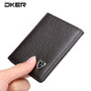 Wallet men genuine leather small wallet thin purse mini card holders male clutch mini wallet practical top quality guarantee !!