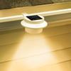 3-LED Solar powered Energy Saving Outdoor Light for Garden Landscape Yard /Fence Gutter /Door Gate /Pathway /Lobby Lighting