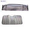 Dropship wupp Top Quality car-styling 1Pc Casual Foldable Car Windshield Visor Cover Front Rear Block Window Sun Shade Jun.27