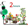 Waterproof Home 2 Hours Automatic Electronic Water Timer Garden Irrigation Controller Watering Garden Irrigation Watering contro