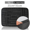 Elastic storage plate Notebook Mouse mobile hard disk data cable headset charger Digital Storage bag Oxford for Tablet PC bags