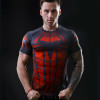 2016 marvel batman compression shirt fitness tights crossfit quick dry short sleeve t shirt Summer Men tee tops clothing