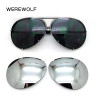 2017 Hot sell interchangeable 8478 sunglasses Replaceable Lens men or women fashion UV400 protection aviator sun glasses clout