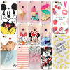 Flower Leaves Cute Case For Fundas iphone 6 Cover Thin Silicone Soft TPU Phone Coque Capa For iphone 5 5s se 6s 7 8 7 plus