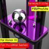 Smart Mirror View Case For Huawei P20 Pro P10 Plus P8 P9 Lite Leather Stand Flip Cover For Huawei Mate 9 10 Pro Honor 10 9 Lite