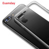 Esamday Clear Silicon Ultra Thin Soft TPU Case For 7 7Plus 8 8Plus X Transparent Phone Case For iPhone 5 5s SE 6 6s 6Plus 6sPlus