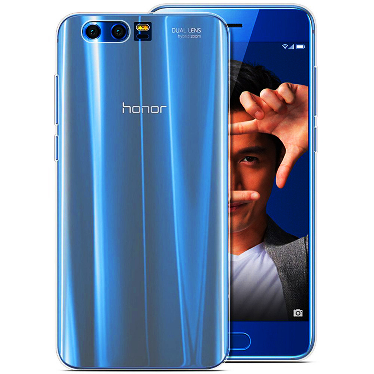 official photos 131d8 3e83a for Huawei Honor 9 /Honor 9 Premium Case Slim Crystal Clear Transparent  Soft TPU Cover Silicon Case Mobile Phone Skin Shell Bag
