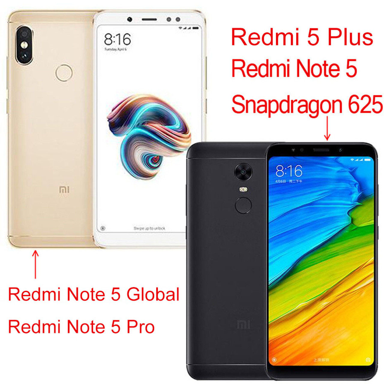 Thouport Case For Xiaomi Redmi Note 5 Pro Redmi 5 Plus Shockproof Hybrid PC  Silicone Cover For Xiaomi Redmi Note 5 Global Case