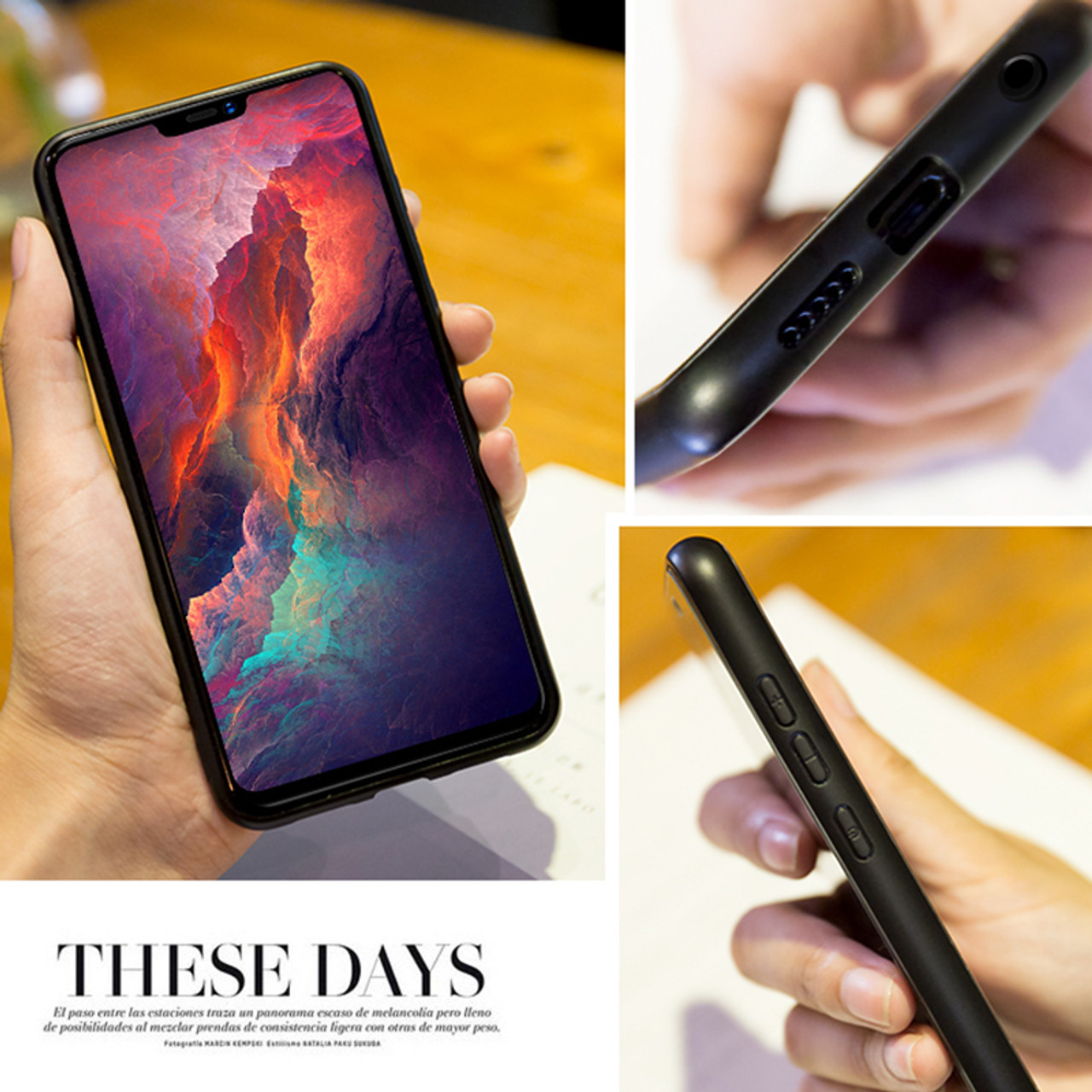 the latest f368a f8942 Oneplus 6 case Mofi one plus 6 case cover tempered glass back cover hard  marble grain black white oneplus 6 cover flow wave6.28