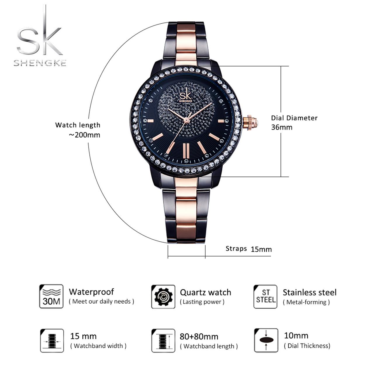 Silver Stainless Steel Strap Watch Women Quartz Watches Ladies Top Brand Luxury Female Wrist Watch Girl Clock Relogio Feminino Women's Watches