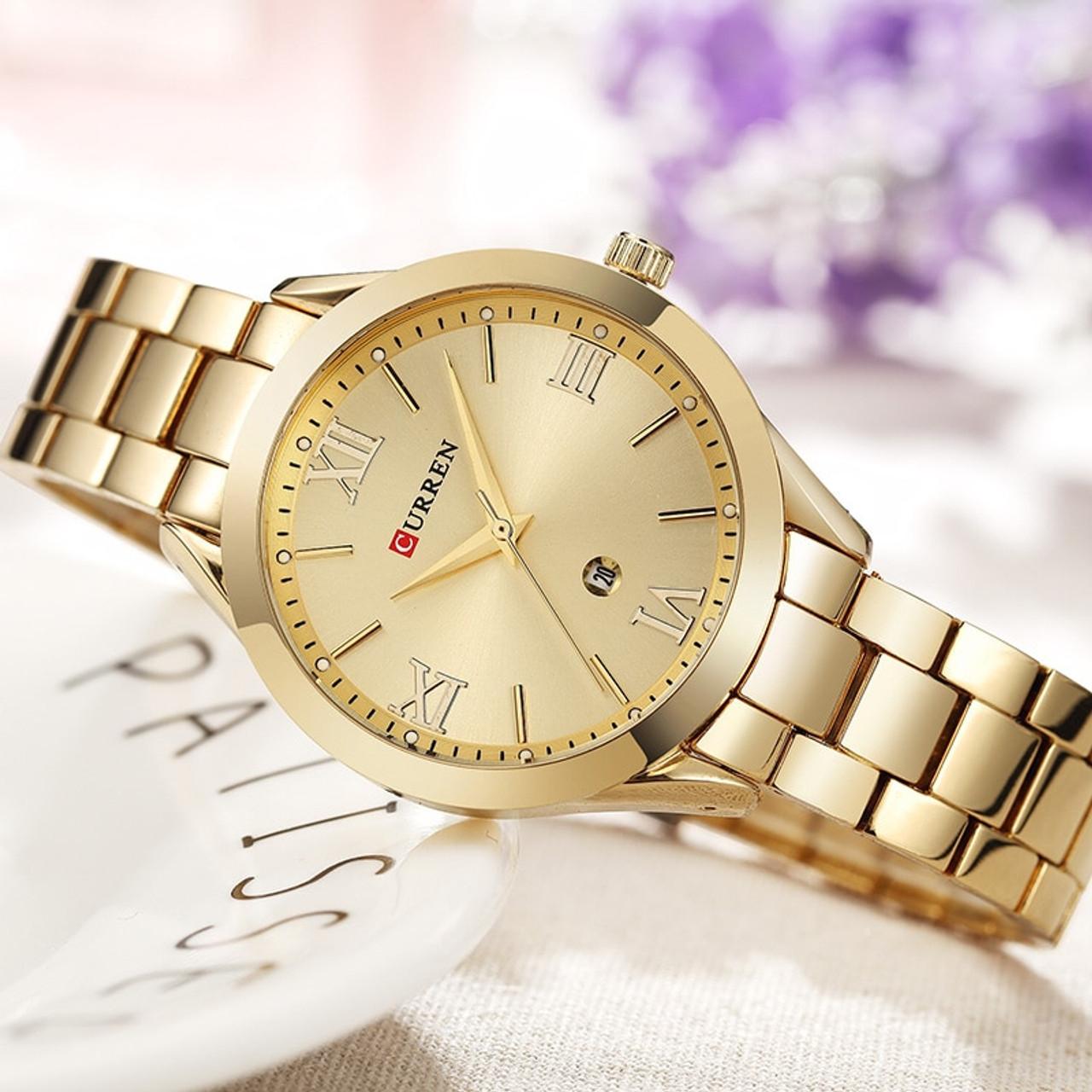 ac88989feb2 Curren rose gold watch women quartz watches ladies top brand luxury female  wrist watch girl clock