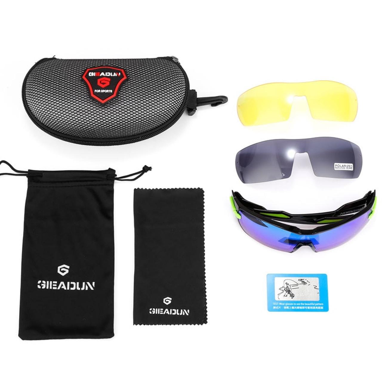 c1c0440c64cc ... Polarized Cycling SunGlasses Mountain Bike Goggles 5 Lens UV400 Cycling  Eyewear Bicycle Sunglasses Cycling Glasses 2018 ...