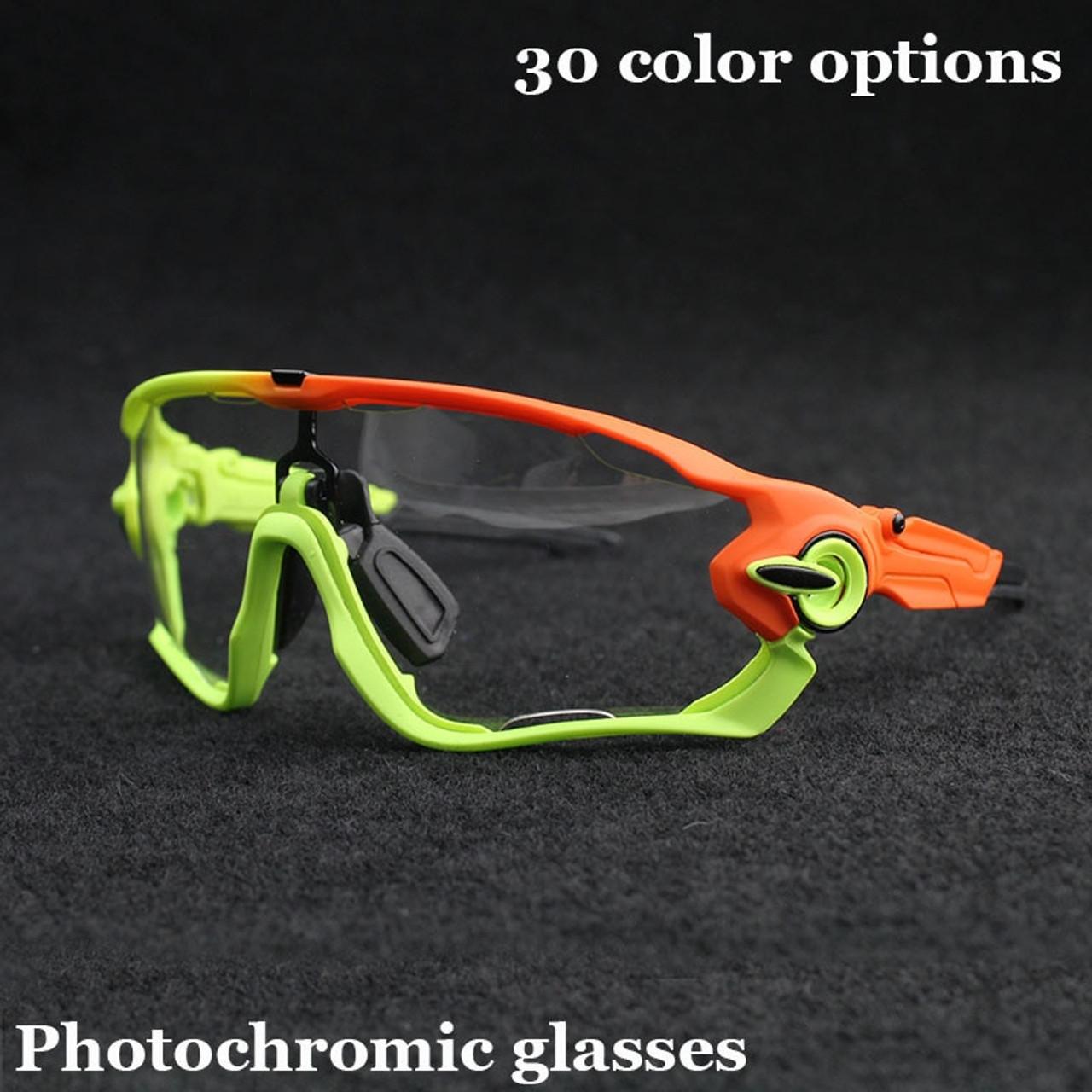 5bce24dff JBR Photochromic Cycling Glasses Men Women Sports MTB Mountain Road Bike  Bicycle Cycling Sunglasses Eyewear UV400 ...