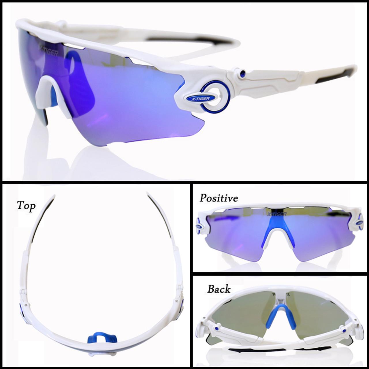 Polarized Cycling Glasses UV400 Cycling Sport SunGlasses Mountain Bike Goggles