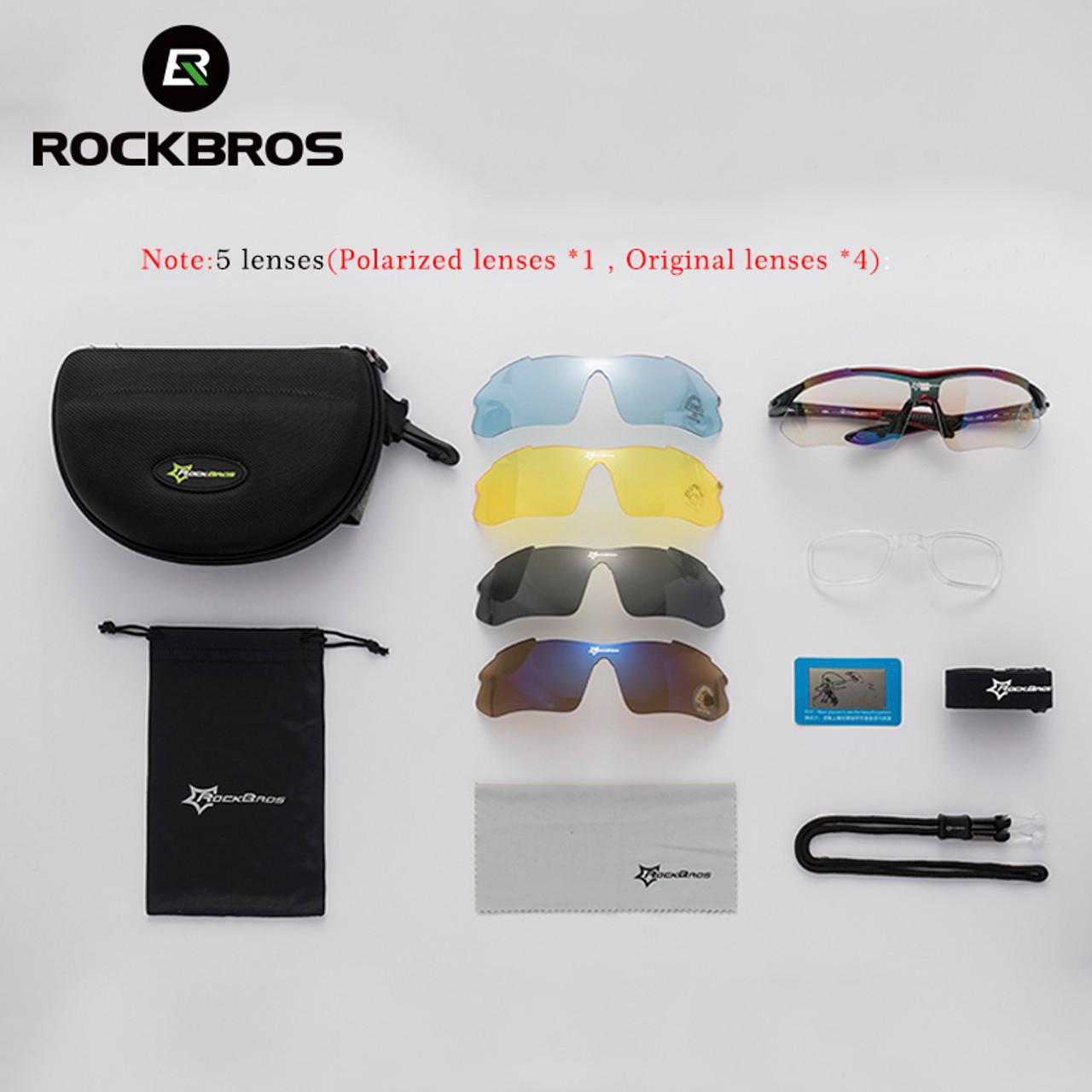 c48c1311c77 ... ROCKBROS Polarized Sports Men Sunglasses Road Cycling Glasses Mountain  Bike Bicycle Riding Protection Goggles Eyewear 5 ...