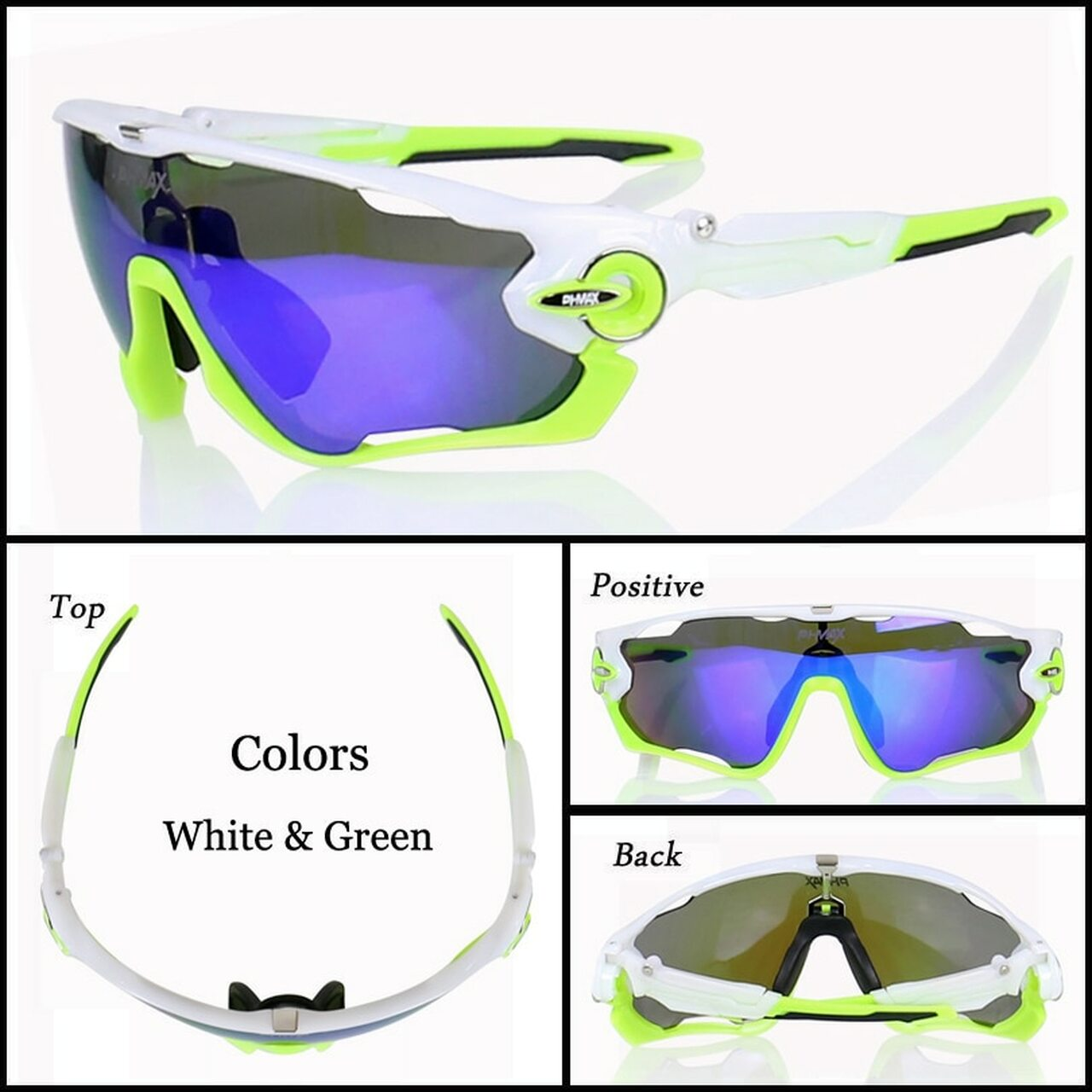 Polarized Sunglasses Sets Sport Mountain Bicycle Road Bike Cycling Sun Glasses
