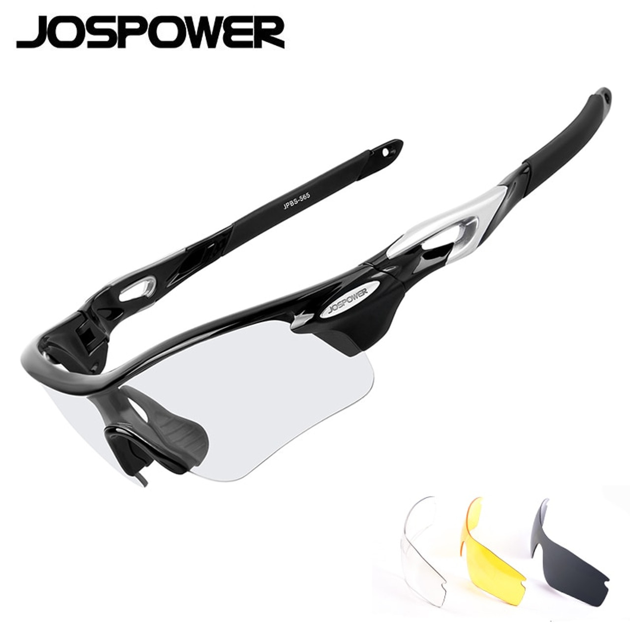 9047a06f51 JOSPOWER Photochromic Cycling Glasses Polarized UV400 Sunglasses MTB Road Bike  Eyewear Glasses Goggles occhiali ciclismo 3 Lens - OnshopDeals.Com