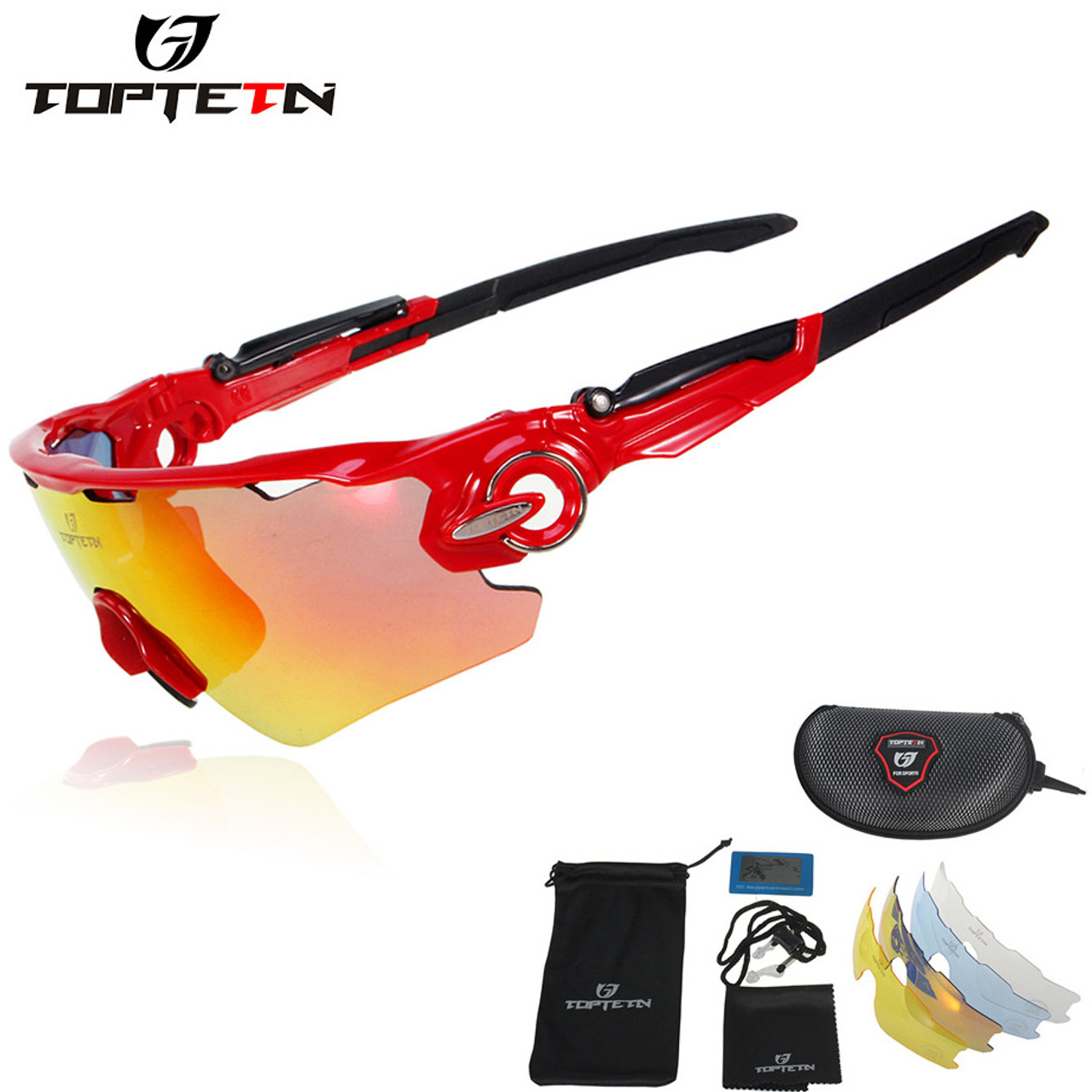 230fdb4d9c ... TOPTETN Brand 5 Lenses Rushed Outdoor Cycling Sunglasses Polarized Bike  Glasses Mountain Bicycle Goggles Mtb Sports ...