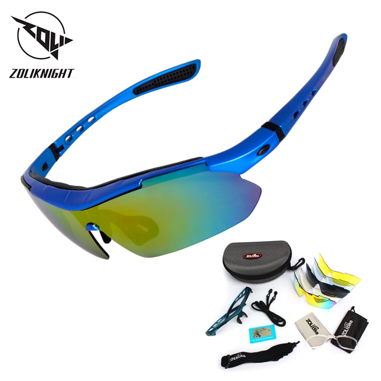 9dd70bcbbd 2018 Polarized Cycling Glasses Bike Outdoor Sports Bicycle Sunglasses For Men  Women Goggles Eyewear 5 Lens Cycling Glasses MTB - OnshopDeals.Com