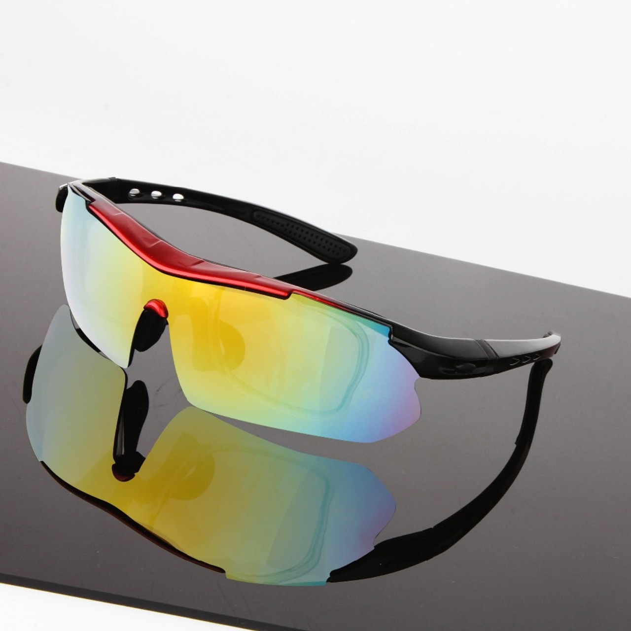 f5cd1486669 ... 2018 Polarized Cycling Glasses Bike Outdoor Sports Bicycle Sunglasses  For Men Women Goggles Eyewear 5 Lens ...