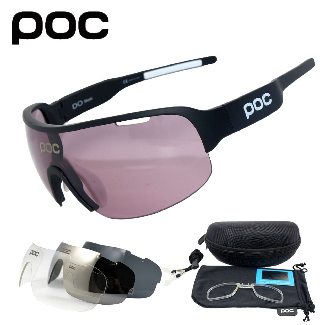 11104fd1dd New Half Frame Polarized 4 Lens Cycling Glasses Men Women Cycling Eyewear  Mountain Bike Goggles Bicycle ...