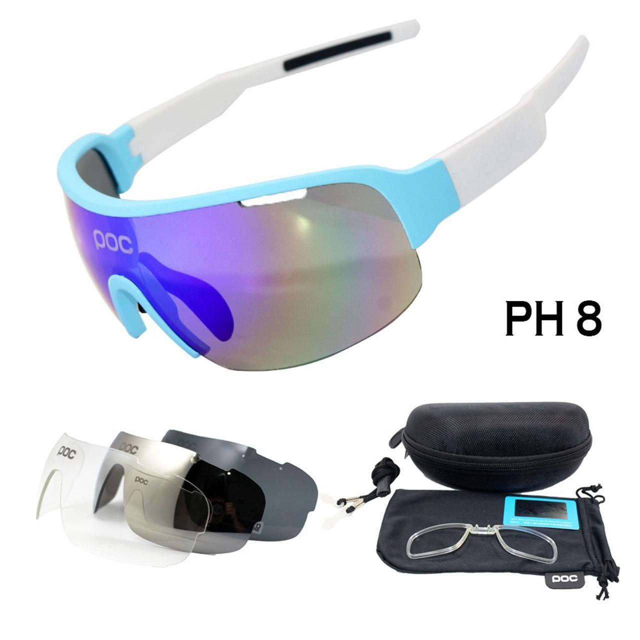 12cfbc1493 ... New Half Frame Polarized 4 Lens Cycling Glasses Men Women Cycling  Eyewear Mountain Bike Goggles Bicycle ...