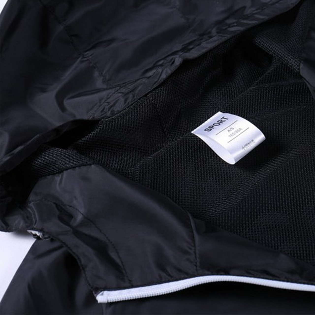 2f28507de9b3 ... 2018 New Spring Summer Mens Fashion Outerwear Windbreaker Men  S Thin  Jackets Hooded Casual Sporting ...