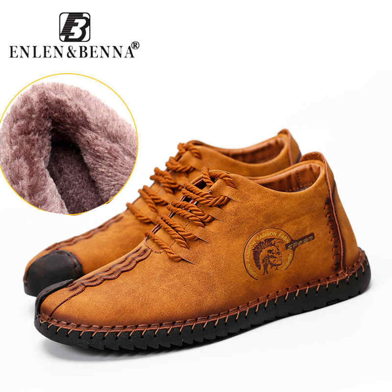64ff1392bc21 2018 New Winter Brand Fashion Comfortable Men Shoes Laces Up Solid Leather  Shoes for Men Causal ...