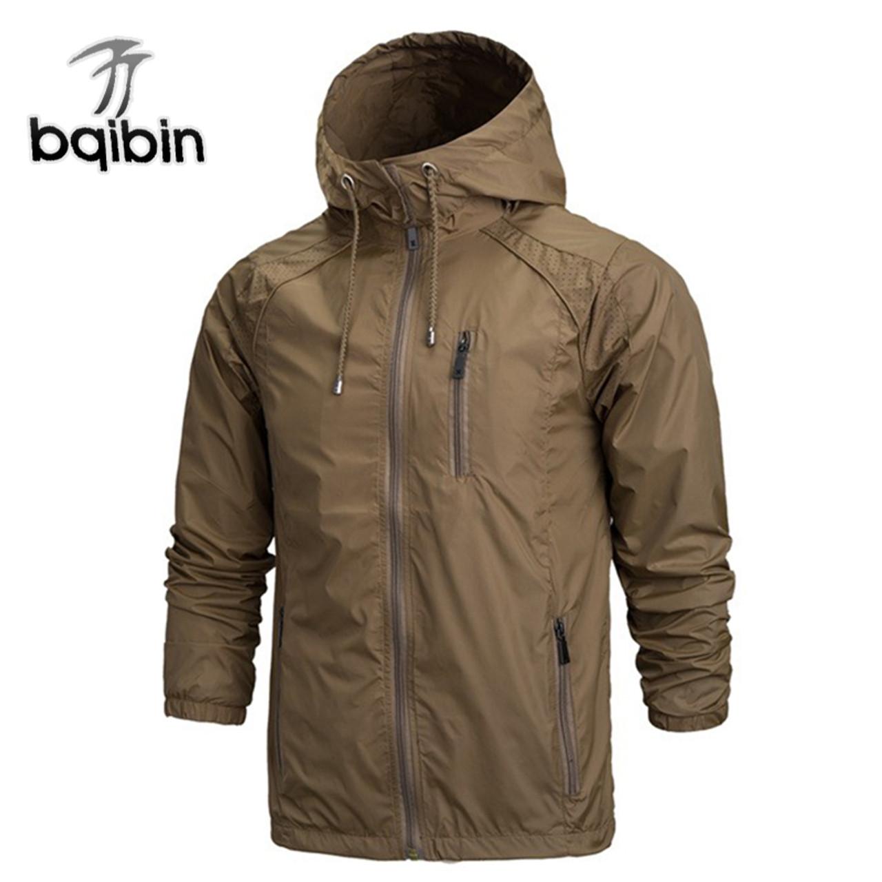2018 Spring New Fashion Jacket Men Windbreaker Waterproof Jackets