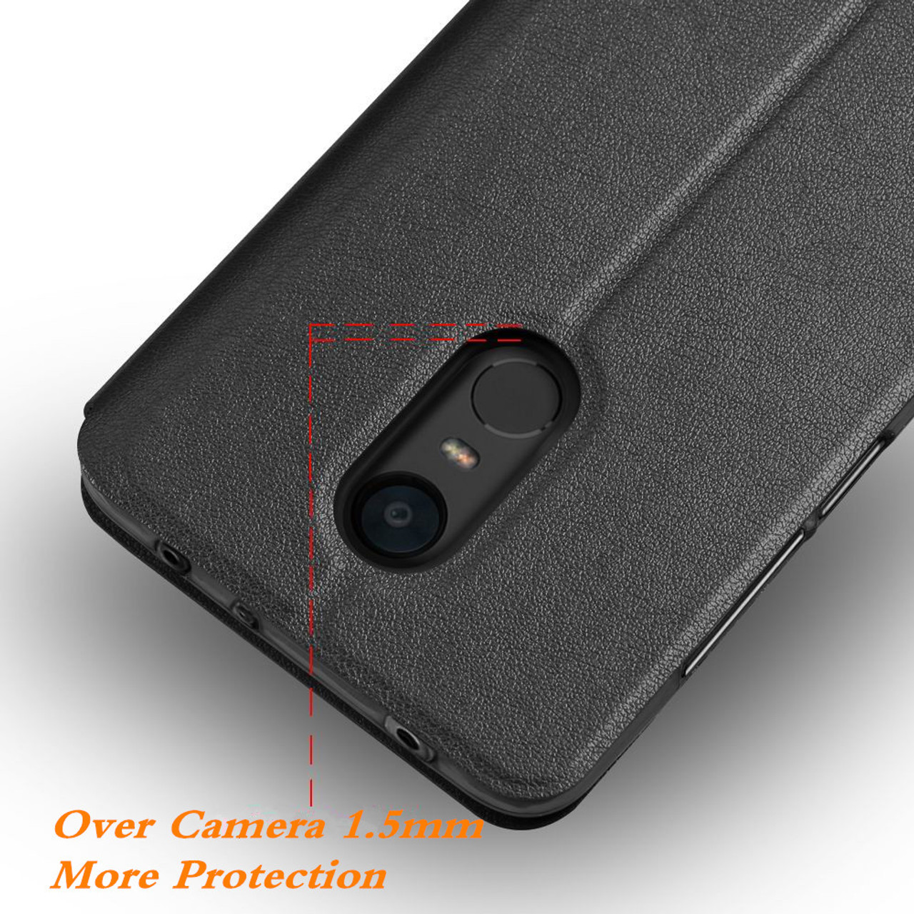 wholesale dealer 60b43 845d6 MOFi for Xiaomi Redmi 5 Plus Case for redmi 5 plus flip case cover Leather  Capas coque for xiomi redmi 5 plus housing original