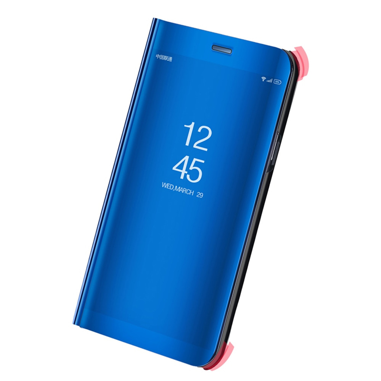 big sale 03075 44920 Dreamysow Mirror Flip Case For Xiaomi Redmi 5 5 Plus Note 4 4X 5A Pro 32GB  64GB Clear View Phone Stand Cover For Xiaomi Mi A1 5X