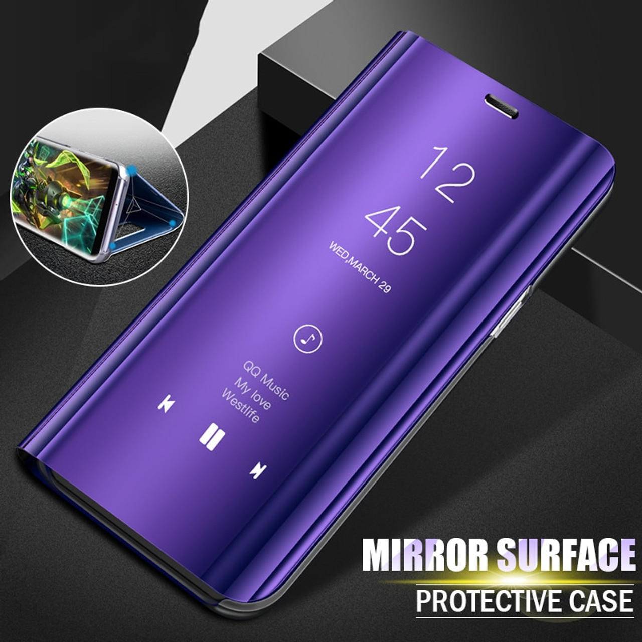 quality design d722b c6a61 Luxury Flip Stand Smart View Cases For Xiaomi Redmi Note 4x Note 5 Pro 5A  Phone Cover For Redmi S2 4X 4A 5 Plus 5A Mi 6X A2 Case
