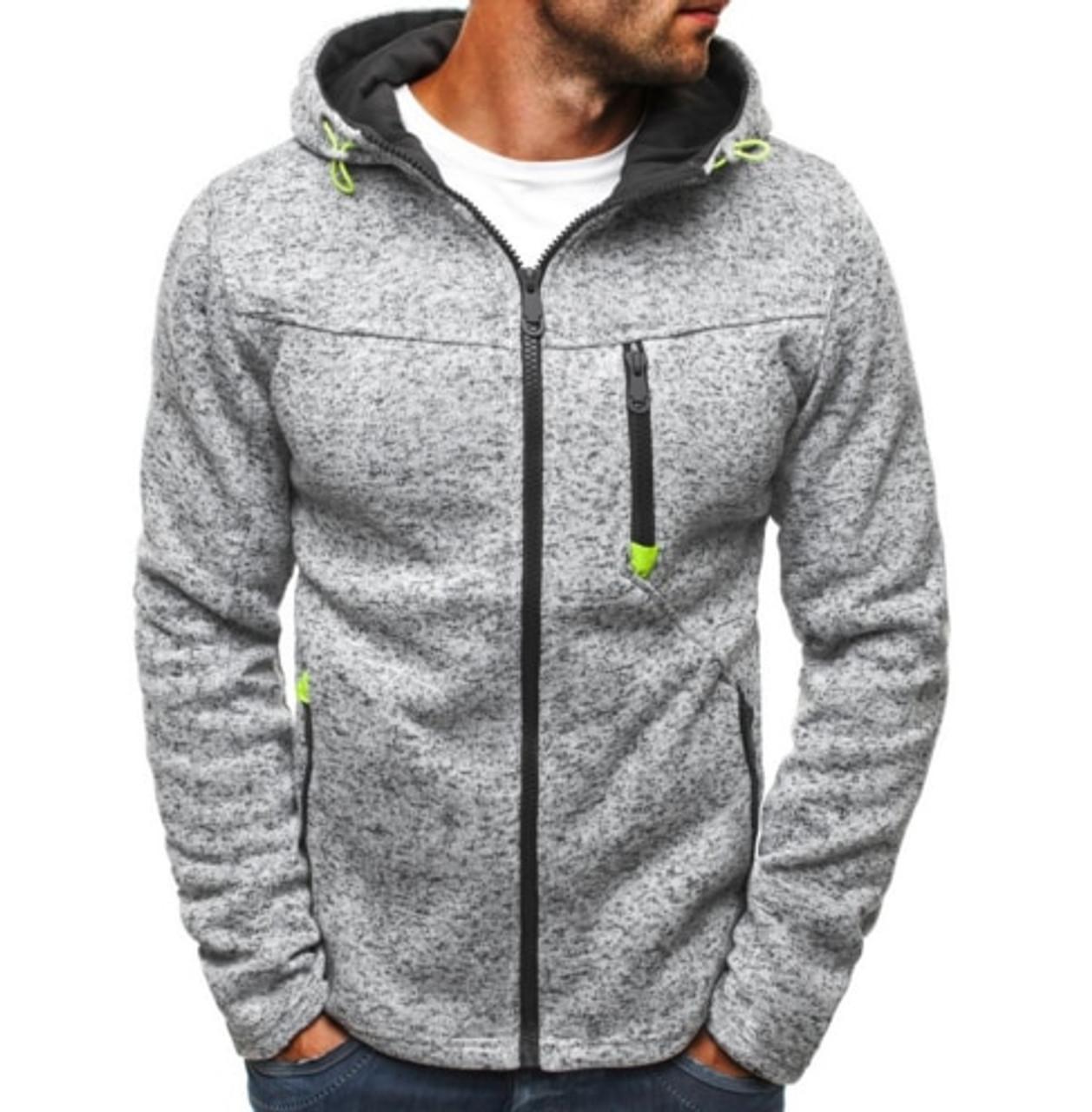Hoodies & Sweatshirts Haifux Brand 2018 Cardigan Multi Button Hoodies Men Fashion Tracksuit Male Sweatshirt Mens Purpose Tour 4xl