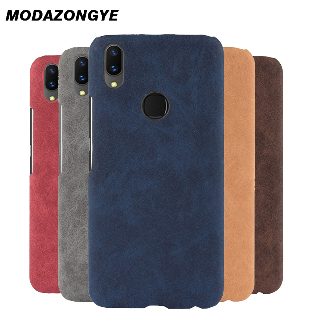 newest f8073 920b1 For VIVO V9 Case VIVO V9 Case Hard Back Cover PU Leather Phone Case For  VIVO V9 YOUTH IN 1727 F1303 Case Protective Cover 6.3