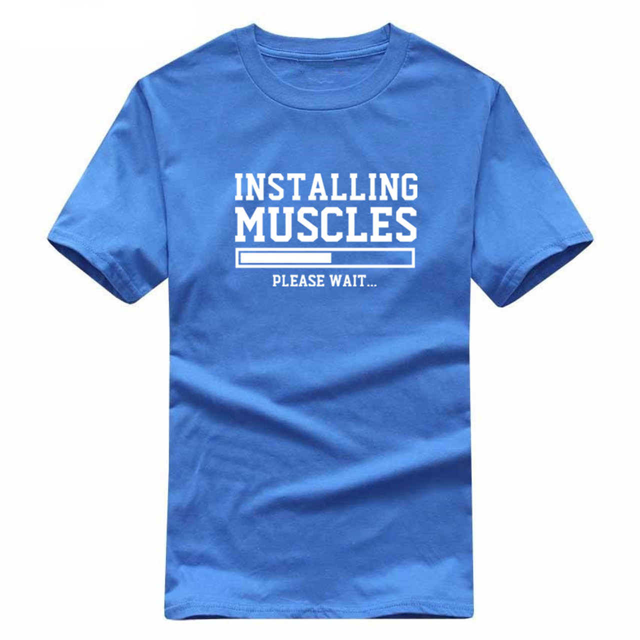 New INSTALLING MUSCLES Funny Print Mens T Shirts LIFTBRO WORKOUT SLOGAN BIRTHDAY TShirt Tee Unisex More